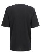 Saint Laurent T-shirt - Noir/naturel