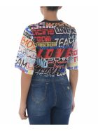 Love Moschino Short Sleeve T-Shirt - Nero/multicolor