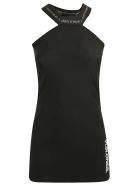 Marcelo Burlon Visione Mini Dress - Black/Multicolor