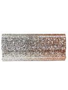 Jimmy Choo Sweetie Glitter Clutch - ROSE GOLD