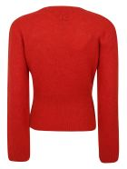 Kenzo Wool Recycled Cashmere Jumper - ROSSO