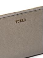 Furla Logo Zip Around Wallet - Tortora