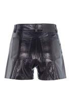 MSGM Metallic Shorts - BLACK