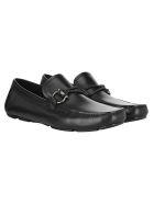 Salvatore Ferragamo Front Loafers - BLACK