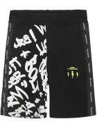 Neil Barrett Kids Shorts - Black