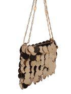 Paco Rabanne '1969' Plastic Shoulder Bags - Light Gold