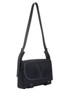 Valentino Garavani Messenger Shoulder Bag - Nero