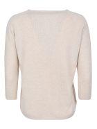 A Punto B Regular Fit Plain Sweater - Natural