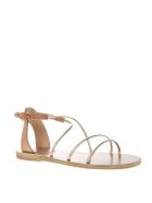 Ancient Greek Sandals Meloivia Cuir Leather Sandals - Cuir