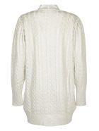 MSGM Sweater - Silver/white