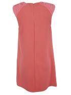 Elisabetta Franchi Celyn B. Elisabetta Franchi For Celyn B. Sleeveless Ruffled Applique Dress - Pink
