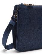 Borbonese Shoulder Bag Small - Blu