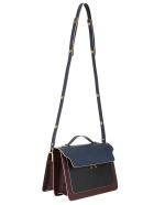 Marni Shoulder Bag - Blue/black/wine