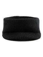 Prada Ribbed Visor Headband - Nero