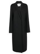Jil Sander Cashmere Lebron Coat - Black