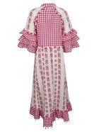 Dodo Bar Or Dodo Bar Or Gingham Tassel Dress - Fuschia
