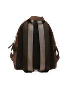 Fendi Ff Print Mini Backpack - Tabacco marrone