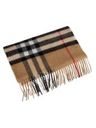 Burberry Giant Check Cashmere Scarf - Archive Beige