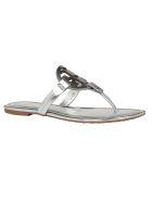 Tory Burch Miller Sandal - Silver