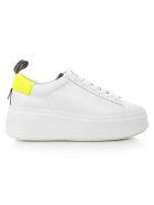 Ash Sneakers Nappa - White Yellow Black