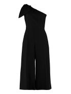 Elisabetta Franchi Celyn B. One-sleeve Jumpsuit With Bow - black