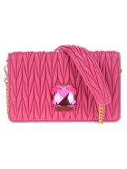 Miu Miu Small  Delice Chain Bag + Crystal - Purple