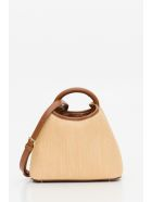 Elleme Baozi Raffia Bag - Marrone