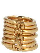 AMBUSH 'multi Layer' Ring - Gold