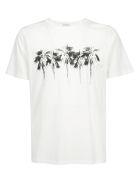Saint Laurent T-shirt - Naturel/noir