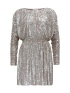 Saint Laurent Sequined Dress - Champagne