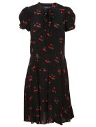 Ralph Lauren Patterned Dress - Black