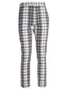 Rokh Tartan Trousers - Nevy Check