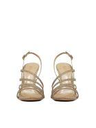 Schutz Strappy Sandals - Bronze