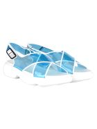 Prada Prada Cloudbust Pvc Sandals - LIGHT BLUE
