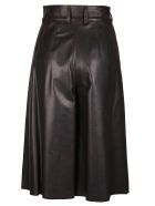 Dolce & Gabbana Wide Leg Cropped Trousers - Brown