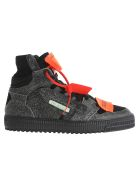Off-White Off White Off Court 3.0 Hi-top Sneakers - BLACK + ORANGE
