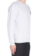 Ami Alexandre Mattiussi 'new Logo' Sweatshirt - Gray