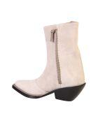 Acne Studios Suede Effect Boots - Beige