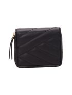 Tory Burch Leather Wallet - Black