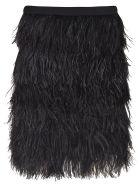 Gianluca Capannolo Mid-furry Skirt - Black