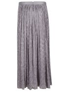 Armani Collezioni Flared Long Skirt - Grey