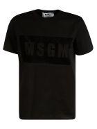 MSGM Logo Print T-shirt - Black