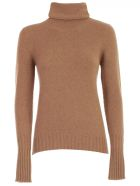 Nuur Sweater Turtle Neck - Cammello