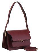 Marni Trunk Shoulder Bag - Ruby
