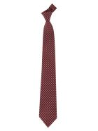 Salvatore Ferragamo Patterned Tie - Berry/orange