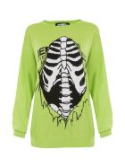 Jeremy Scott Rib Cage Virgin Wool Sweater - Basic