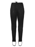 Ben Taverniti Unravel Project Unravel Laced Stirrup-hem Jeans - BLACK