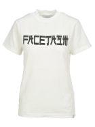 Facetasm Tshirt Logo - WHITE