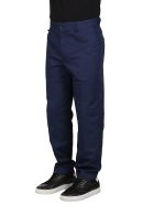 Lanvin Blue Cotton Trousers - Blue