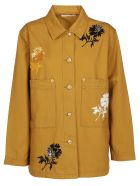 Tory Burch Embroidered Barn Jacket - Ridge